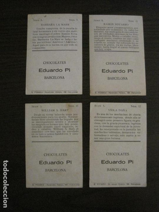 Coleccionismo Cromos antiguos: LOS ASES DE LA PANTALLA-COLECCION COMPLETA 32 CROMOS-CHOCOLATE EDUARDO PI-VER FOTOS-(V-16.016) - Foto 8 - 153384410