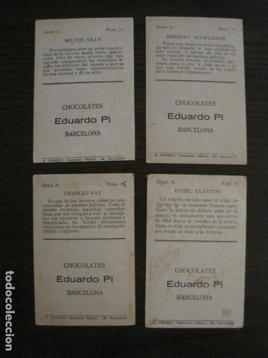 Coleccionismo Cromos antiguos: LOS ASES DE LA PANTALLA-COLECCION COMPLETA 32 CROMOS-CHOCOLATE EDUARDO PI-VER FOTOS-(V-16.016) - Foto 10 - 153384410