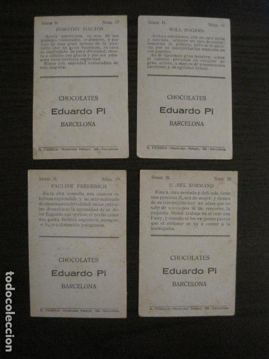 Coleccionismo Cromos antiguos: LOS ASES DE LA PANTALLA-COLECCION COMPLETA 32 CROMOS-CHOCOLATE EDUARDO PI-VER FOTOS-(V-16.016) - Foto 12 - 153384410