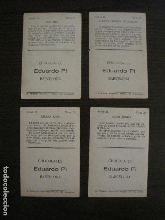 Coleccionismo Cromos antiguos: LOS ASES DE LA PANTALLA-COLECCION COMPLETA 32 CROMOS-CHOCOLATE EDUARDO PI-VER FOTOS-(V-16.016) - Foto 14 - 153384410