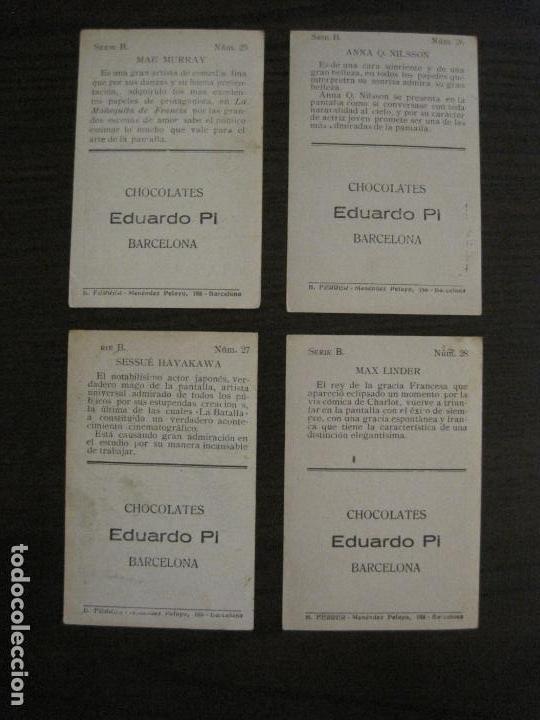Coleccionismo Cromos antiguos: LOS ASES DE LA PANTALLA-COLECCION COMPLETA 32 CROMOS-CHOCOLATE EDUARDO PI-VER FOTOS-(V-16.016) - Foto 16 - 153384410