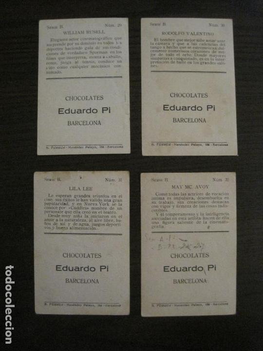 Coleccionismo Cromos antiguos: LOS ASES DE LA PANTALLA-COLECCION COMPLETA 32 CROMOS-CHOCOLATE EDUARDO PI-VER FOTOS-(V-16.016) - Foto 18 - 153384410