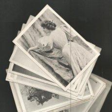 Coleccionismo Cromos antiguos: ARTISTAS ANTIGUAS-COLECCION COMPLETA 24 CROMOS-VER FOTOS-(V-16.020). Lote 153390834