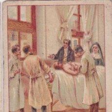 Colecionismo Cromos antigos: FIRMA DE HOMBRES CELEBRES Nº 26 - GUILLERMO DUPUYTREN. Lote 153584714