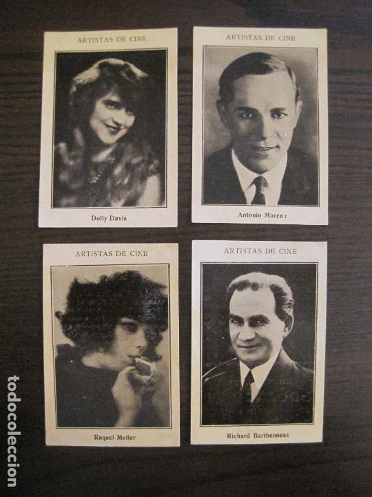 Coleccionismo Cromos antiguos: ARTISTAS DE CINE-COLECCION COMPLETA 21 CROMOS-CHOCOLATES EDUARDO PI-VER FOTOS-(V-16.021) - Foto 5 - 153693834