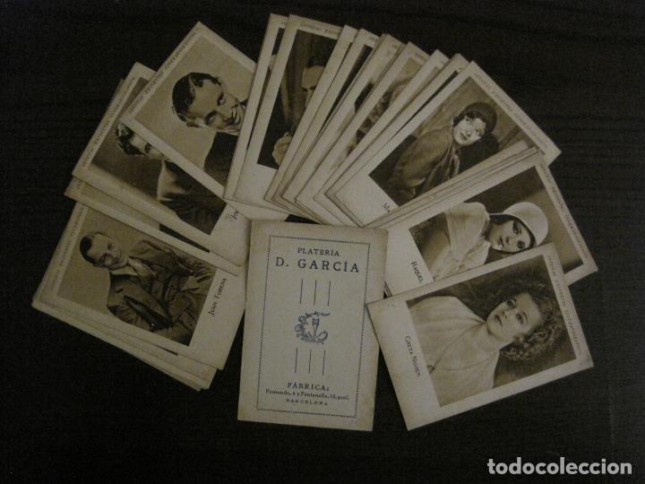 Coleccionismo Cromos antiguos: ARTISTAS EMINENTES CINEMATOGRAFICAS-32 CROMOS COMPLETA-PLATERIA GARCIA-VER FOTOS-(V-16.029) - Foto 2 - 153699662