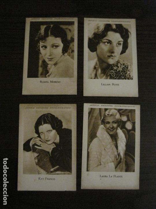 Coleccionismo Cromos antiguos: ARTISTAS EMINENTES CINEMATOGRAFICAS-32 CROMOS COMPLETA-PLATERIA GARCIA-VER FOTOS-(V-16.029) - Foto 9 - 153699662