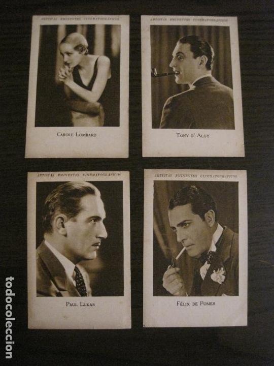 Coleccionismo Cromos antiguos: ARTISTAS EMINENTES CINEMATOGRAFICAS-32 CROMOS COMPLETA-PLATERIA GARCIA-VER FOTOS-(V-16.029) - Foto 11 - 153699662