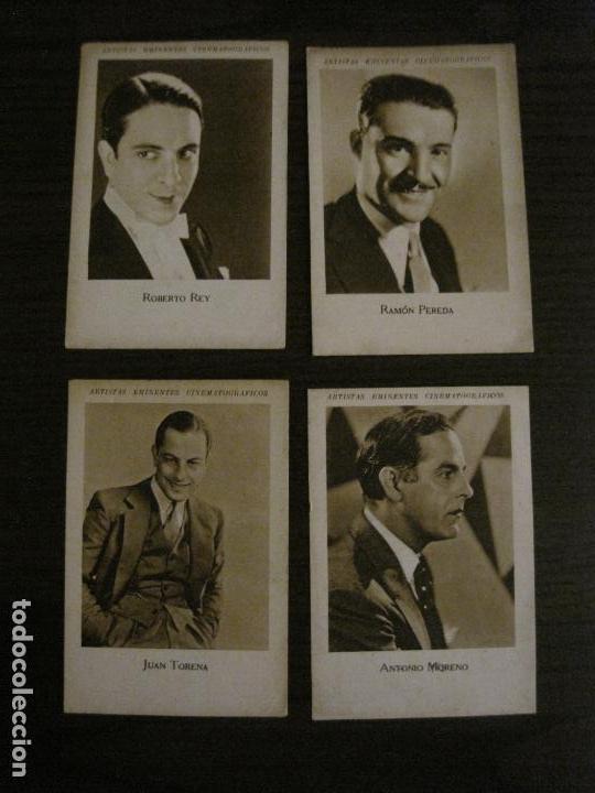 Coleccionismo Cromos antiguos: ARTISTAS EMINENTES CINEMATOGRAFICAS-32 CROMOS COMPLETA-PLATERIA GARCIA-VER FOTOS-(V-16.029) - Foto 15 - 153699662