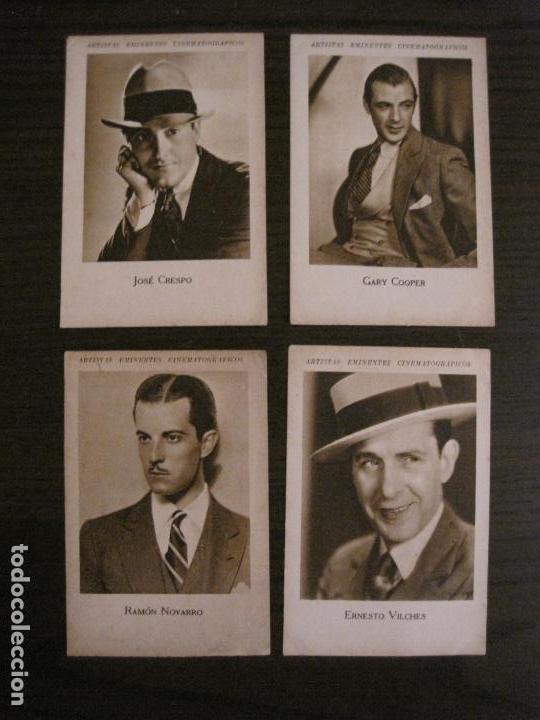 Coleccionismo Cromos antiguos: ARTISTAS EMINENTES CINEMATOGRAFICAS-32 CROMOS COMPLETA-PLATERIA GARCIA-VER FOTOS-(V-16.029) - Foto 17 - 153699662