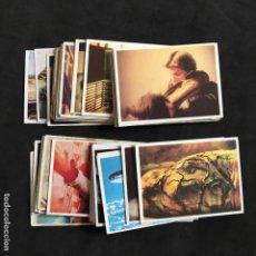 Coleccionismo Cromos antiguos: LOTE 44 CROMOS CROMO DEL ALBUM DE LOS AÑOS 80 SERIE V LOS VISITANTES . Lote 153795626