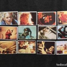 Coleccionismo Cromos antiguos: LOTE 12 CROMOS CROMO DEL ALBUM DE LOS AÑOS 80 SERIE V LOS VISITANTES. Lote 46924115