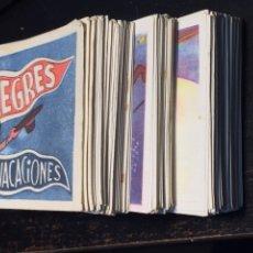 Coleccionismo Cromos antiguos: CROMOS ALEGRES VACACIONES COLECCIÓN COMPLETA SIN ÁLBUM ENVIO GRATIS. Lote 153896416