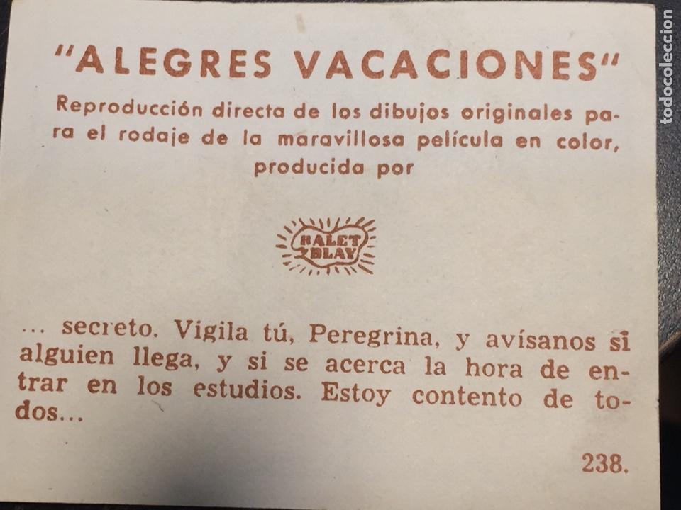 Coleccionismo Cromos antiguos: Cromos Alegres Vacaciones colección completa sin Álbum envio gratis - Foto 6 - 153896416