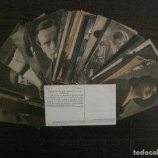 Coleccionismo Cromos antiguos: PRINCIPALES ARTISTAS CINEMATOGRAFICAS-COL· COMPLETA 36 CROMOS-CHOCOLATE AMATLLER-VER FOTOS(V-16.043). Lote 154013066