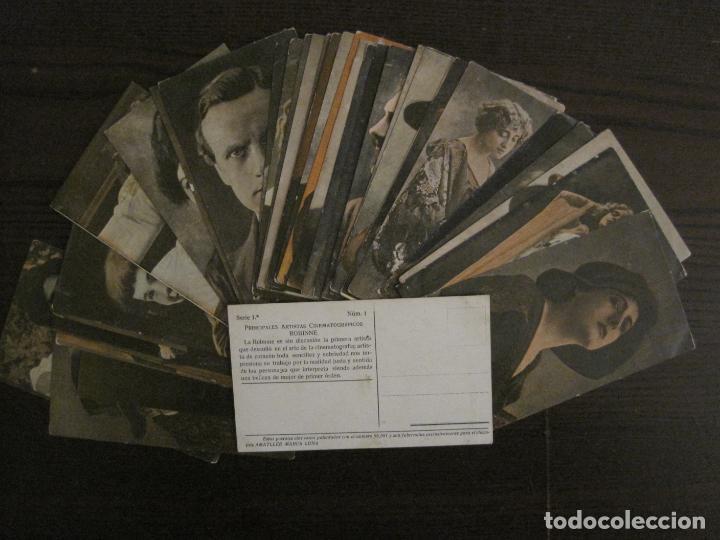 Coleccionismo Cromos antiguos: PRINCIPALES ARTISTAS CINEMATOGRAFICAS-COL· COMPLETA 36 CROMOS-CHOCOLATE AMATLLER-VER FOTOS(V-16.043) - Foto 2 - 154013066