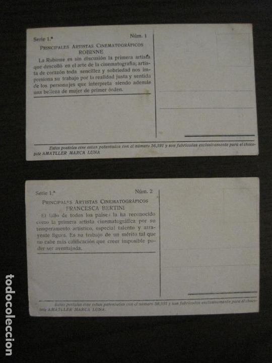 Coleccionismo Cromos antiguos: PRINCIPALES ARTISTAS CINEMATOGRAFICAS-COL· COMPLETA 36 CROMOS-CHOCOLATE AMATLLER-VER FOTOS(V-16.043) - Foto 4 - 154013066