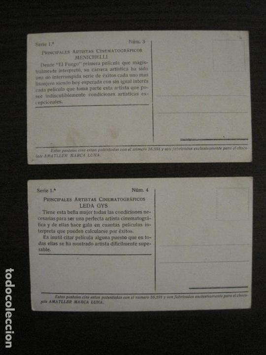 Coleccionismo Cromos antiguos: PRINCIPALES ARTISTAS CINEMATOGRAFICAS-COL· COMPLETA 36 CROMOS-CHOCOLATE AMATLLER-VER FOTOS(V-16.043) - Foto 6 - 154013066