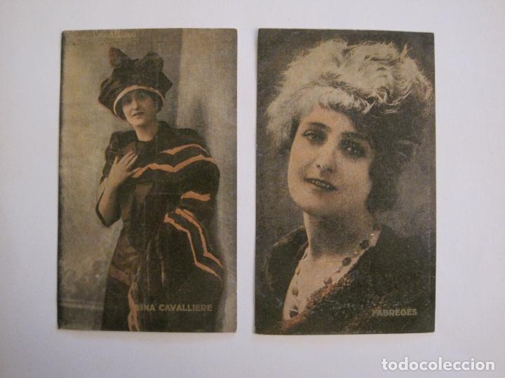 Coleccionismo Cromos antiguos: PRINCIPALES ARTISTAS CINEMATOGRAFICAS-COL· COMPLETA 36 CROMOS-CHOCOLATE AMATLLER-VER FOTOS(V-16.043) - Foto 7 - 154013066