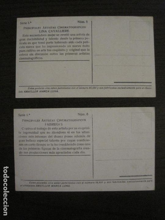 Coleccionismo Cromos antiguos: PRINCIPALES ARTISTAS CINEMATOGRAFICAS-COL· COMPLETA 36 CROMOS-CHOCOLATE AMATLLER-VER FOTOS(V-16.043) - Foto 8 - 154013066