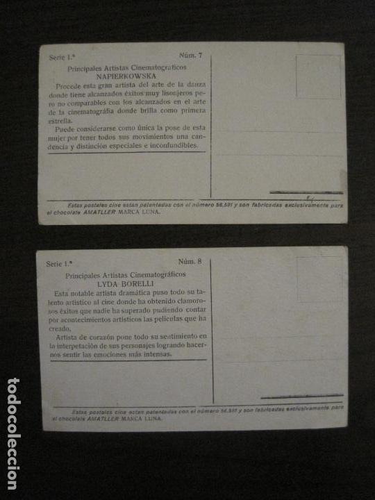 Coleccionismo Cromos antiguos: PRINCIPALES ARTISTAS CINEMATOGRAFICAS-COL· COMPLETA 36 CROMOS-CHOCOLATE AMATLLER-VER FOTOS(V-16.043) - Foto 10 - 154013066