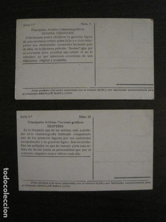 Coleccionismo Cromos antiguos: PRINCIPALES ARTISTAS CINEMATOGRAFICAS-COL· COMPLETA 36 CROMOS-CHOCOLATE AMATLLER-VER FOTOS(V-16.043) - Foto 12 - 154013066