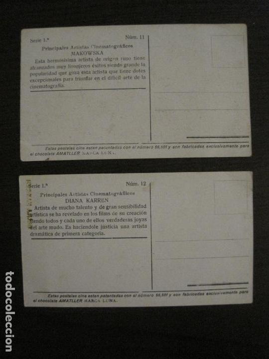 Coleccionismo Cromos antiguos: PRINCIPALES ARTISTAS CINEMATOGRAFICAS-COL· COMPLETA 36 CROMOS-CHOCOLATE AMATLLER-VER FOTOS(V-16.043) - Foto 14 - 154013066