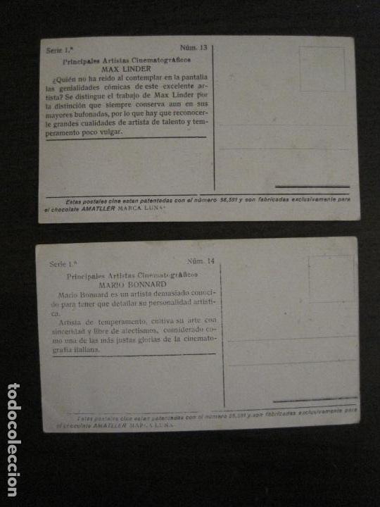Coleccionismo Cromos antiguos: PRINCIPALES ARTISTAS CINEMATOGRAFICAS-COL· COMPLETA 36 CROMOS-CHOCOLATE AMATLLER-VER FOTOS(V-16.043) - Foto 16 - 154013066