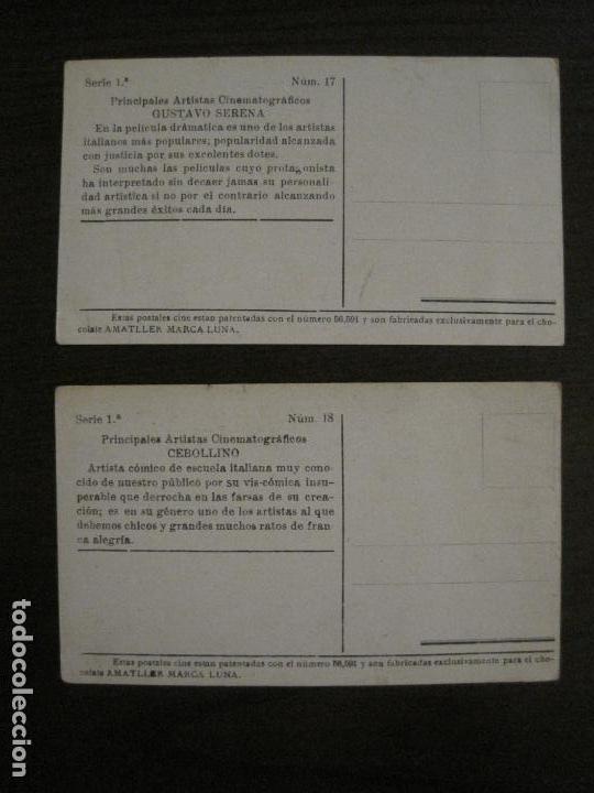 Coleccionismo Cromos antiguos: PRINCIPALES ARTISTAS CINEMATOGRAFICAS-COL· COMPLETA 36 CROMOS-CHOCOLATE AMATLLER-VER FOTOS(V-16.043) - Foto 20 - 154013066