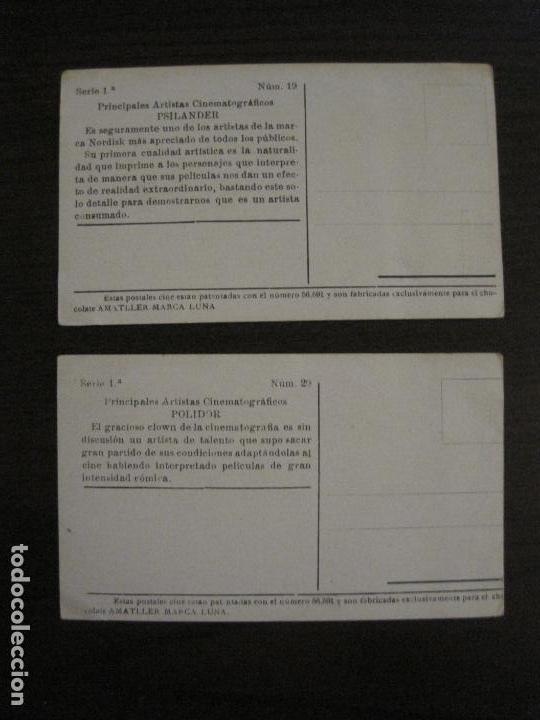 Coleccionismo Cromos antiguos: PRINCIPALES ARTISTAS CINEMATOGRAFICAS-COL· COMPLETA 36 CROMOS-CHOCOLATE AMATLLER-VER FOTOS(V-16.043) - Foto 22 - 154013066