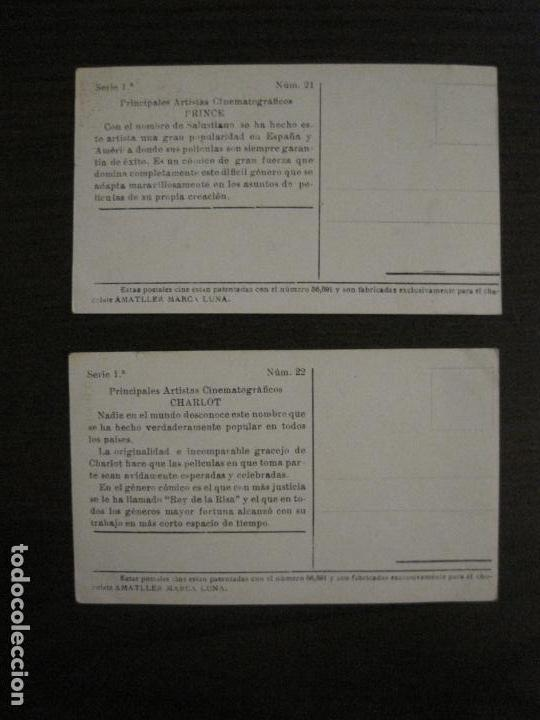 Coleccionismo Cromos antiguos: PRINCIPALES ARTISTAS CINEMATOGRAFICAS-COL· COMPLETA 36 CROMOS-CHOCOLATE AMATLLER-VER FOTOS(V-16.043) - Foto 24 - 154013066