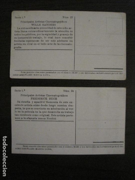 Coleccionismo Cromos antiguos: PRINCIPALES ARTISTAS CINEMATOGRAFICAS-COL· COMPLETA 36 CROMOS-CHOCOLATE AMATLLER-VER FOTOS(V-16.043) - Foto 25 - 154013066