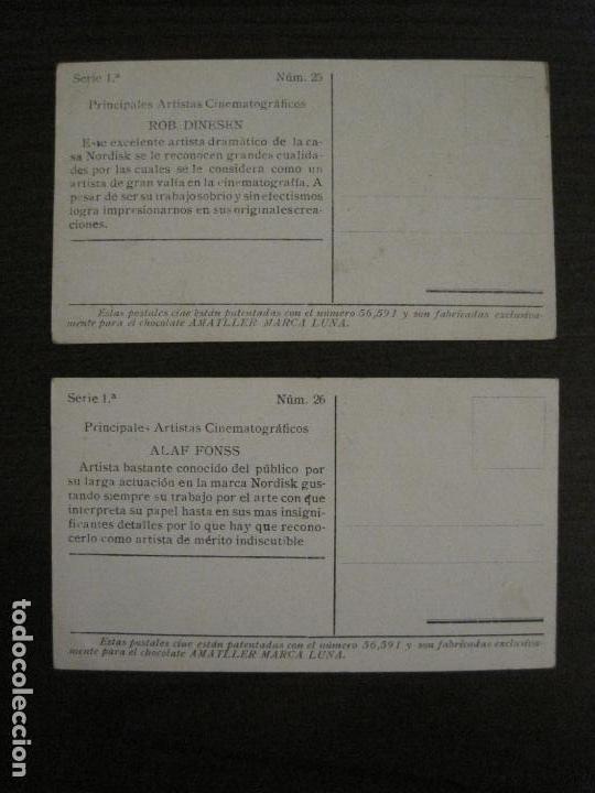Coleccionismo Cromos antiguos: PRINCIPALES ARTISTAS CINEMATOGRAFICAS-COL· COMPLETA 36 CROMOS-CHOCOLATE AMATLLER-VER FOTOS(V-16.043) - Foto 28 - 154013066