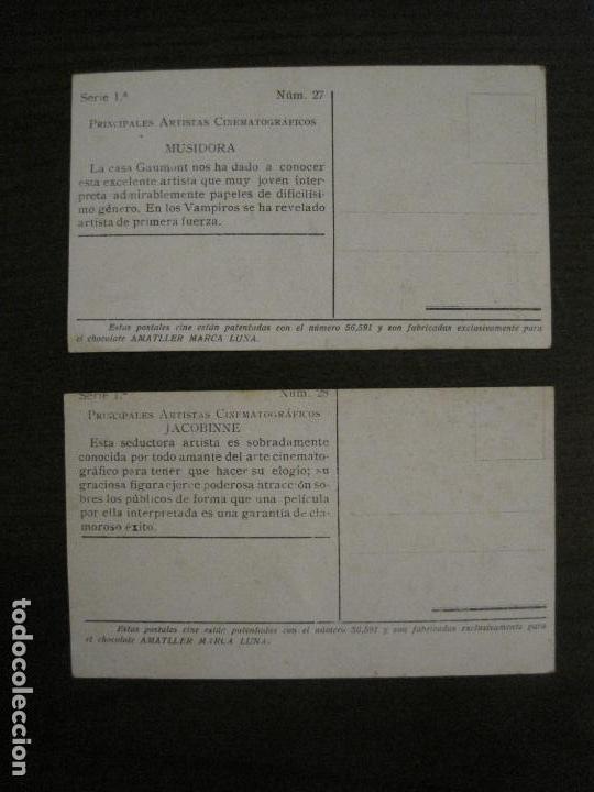 Coleccionismo Cromos antiguos: PRINCIPALES ARTISTAS CINEMATOGRAFICAS-COL· COMPLETA 36 CROMOS-CHOCOLATE AMATLLER-VER FOTOS(V-16.043) - Foto 30 - 154013066