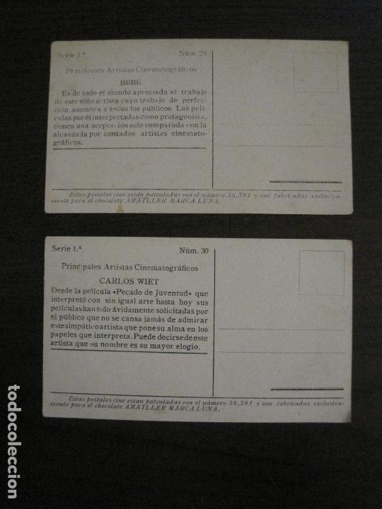 Coleccionismo Cromos antiguos: PRINCIPALES ARTISTAS CINEMATOGRAFICAS-COL· COMPLETA 36 CROMOS-CHOCOLATE AMATLLER-VER FOTOS(V-16.043) - Foto 32 - 154013066