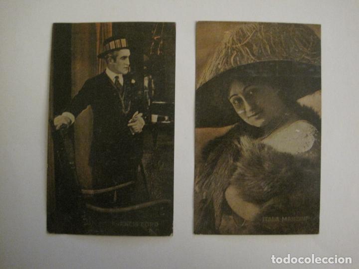 Coleccionismo Cromos antiguos: PRINCIPALES ARTISTAS CINEMATOGRAFICAS-COL· COMPLETA 36 CROMOS-CHOCOLATE AMATLLER-VER FOTOS(V-16.043) - Foto 33 - 154013066