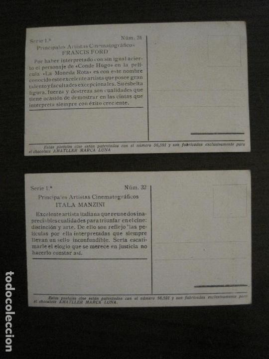 Coleccionismo Cromos antiguos: PRINCIPALES ARTISTAS CINEMATOGRAFICAS-COL· COMPLETA 36 CROMOS-CHOCOLATE AMATLLER-VER FOTOS(V-16.043) - Foto 34 - 154013066