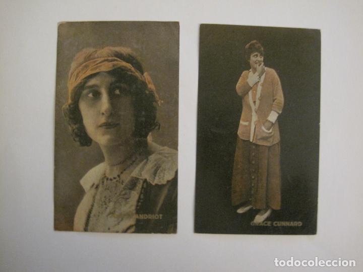 Coleccionismo Cromos antiguos: PRINCIPALES ARTISTAS CINEMATOGRAFICAS-COL· COMPLETA 36 CROMOS-CHOCOLATE AMATLLER-VER FOTOS(V-16.043) - Foto 35 - 154013066
