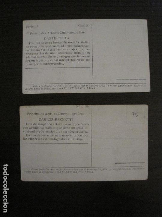 Coleccionismo Cromos antiguos: PRINCIPALES ARTISTAS CINEMATOGRAFICAS-COL· COMPLETA 36 CROMOS-CHOCOLATE AMATLLER-VER FOTOS(V-16.043) - Foto 38 - 154013066