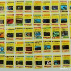 Coleccionismo Cromos antiguos: COLECCION DE 45 CROMOS BIMBOVISION DE BIMBO. Lote 154985770