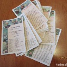 Coleccionismo Cromos antiguos: EL TREN EXPRESO. CHOCOLATE AMATLLER. LOTE 22 CROMOS (SIN REPETIDOS). Lote 155249994