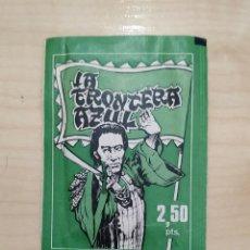 Coleccionismo Cromos antiguos: LA FRONTERA AZUL DE FHER SOBRE SIN ABRIR IMPECABLE . Lote 155560154