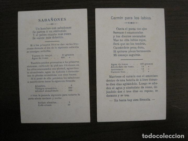 Sammeln alte Sammelbilder: FARMACIA-FOSFOGLICOKOLA-COLECCION COMPLETA 12 CROMOS-DOMENECH-VER FOTOS-(V-16.146) - Foto 4 - 155821294