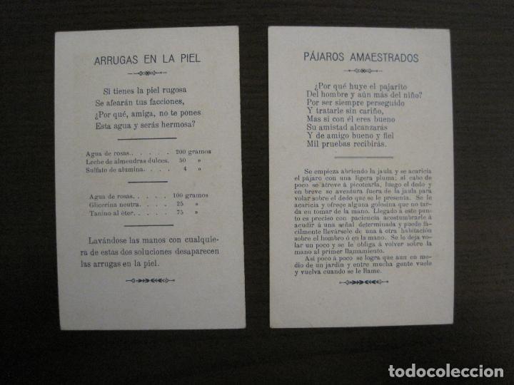 Sammeln alte Sammelbilder: FARMACIA-FOSFOGLICOKOLA-COLECCION COMPLETA 12 CROMOS-DOMENECH-VER FOTOS-(V-16.146) - Foto 6 - 155821294