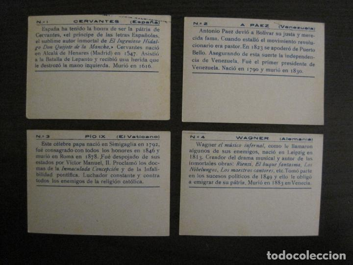 Coleccionismo Cromos antiguos: BANDERAS Y HOMBRES CELEBRES-COLECCION COMPLETA 50 CROMOS-REPUBLICA-VER FOTOS-(V-16.147) - Foto 3 - 155821534