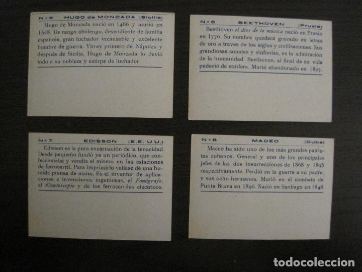 Coleccionismo Cromos antiguos: BANDERAS Y HOMBRES CELEBRES-COLECCION COMPLETA 50 CROMOS-REPUBLICA-VER FOTOS-(V-16.147) - Foto 5 - 155821534