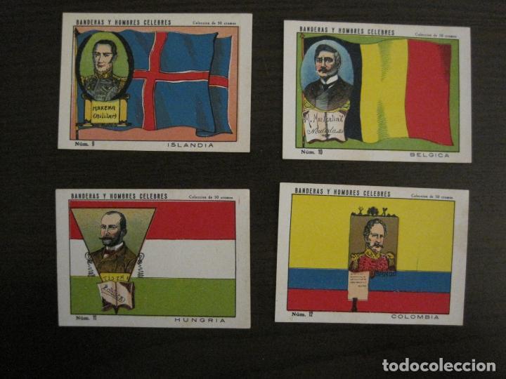 Coleccionismo Cromos antiguos: BANDERAS Y HOMBRES CELEBRES-COLECCION COMPLETA 50 CROMOS-REPUBLICA-VER FOTOS-(V-16.147) - Foto 6 - 155821534