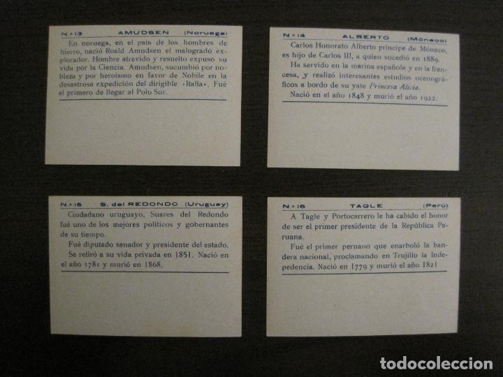 Coleccionismo Cromos antiguos: BANDERAS Y HOMBRES CELEBRES-COLECCION COMPLETA 50 CROMOS-REPUBLICA-VER FOTOS-(V-16.147) - Foto 9 - 155821534