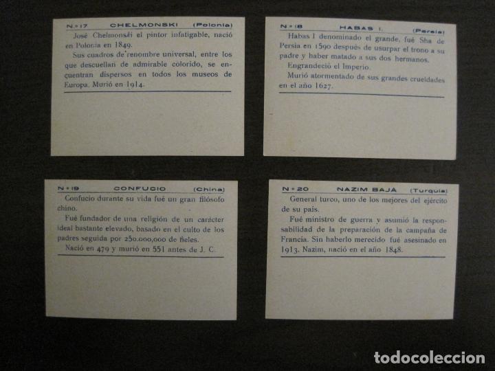 Coleccionismo Cromos antiguos: BANDERAS Y HOMBRES CELEBRES-COLECCION COMPLETA 50 CROMOS-REPUBLICA-VER FOTOS-(V-16.147) - Foto 11 - 155821534