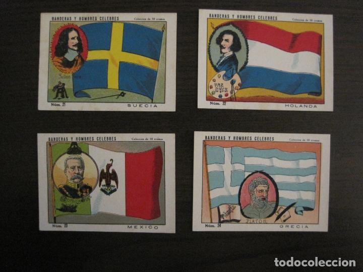 Coleccionismo Cromos antiguos: BANDERAS Y HOMBRES CELEBRES-COLECCION COMPLETA 50 CROMOS-REPUBLICA-VER FOTOS-(V-16.147) - Foto 12 - 155821534